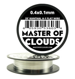 MASTER OF CLOUDS Master of Clouds 0.4X0.1MM KANTHAL [A1] 25FT