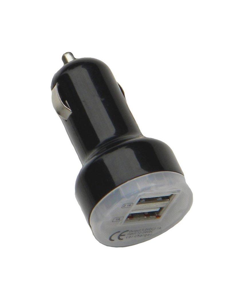 12 Volt USB Auto Adapter-All Colors