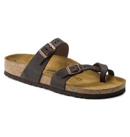 BIRKENSTOCK MAYARI OILED LEATHER-HABANA
