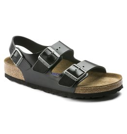 BIRKENSTOCK MILANO SOFT FOOTBED SMOOTH LEATHER
