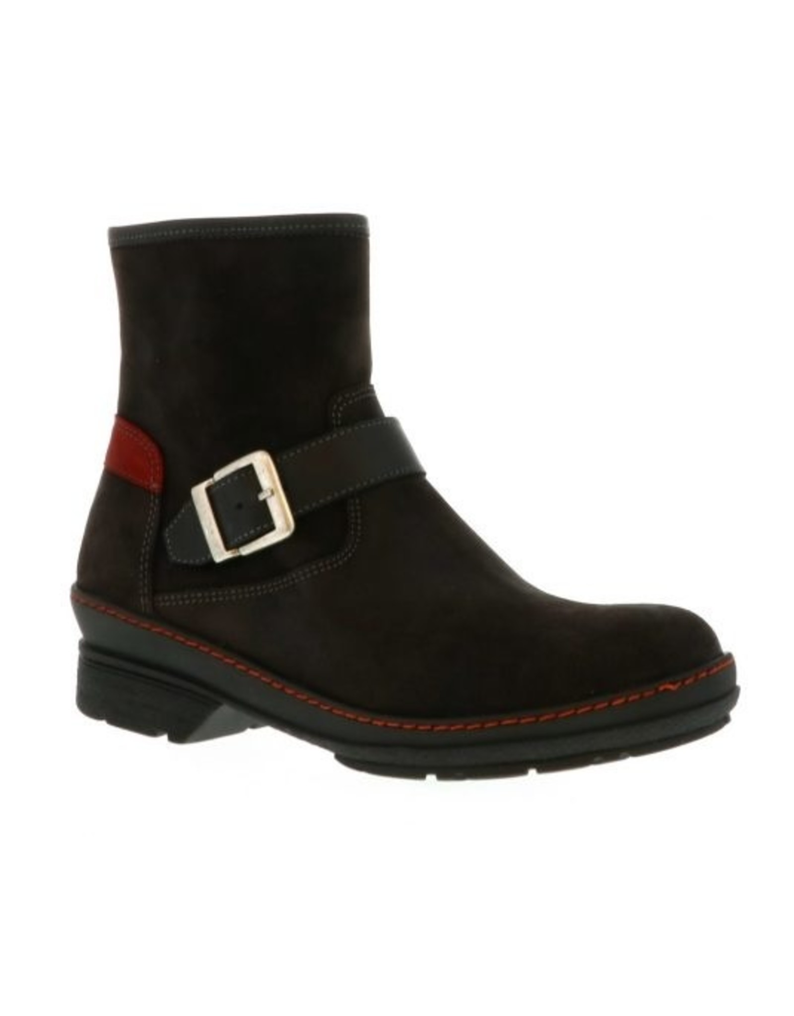 WOLKY WOMEN'S NITRA WP-BLACK LIVERPOOL SUEDE
