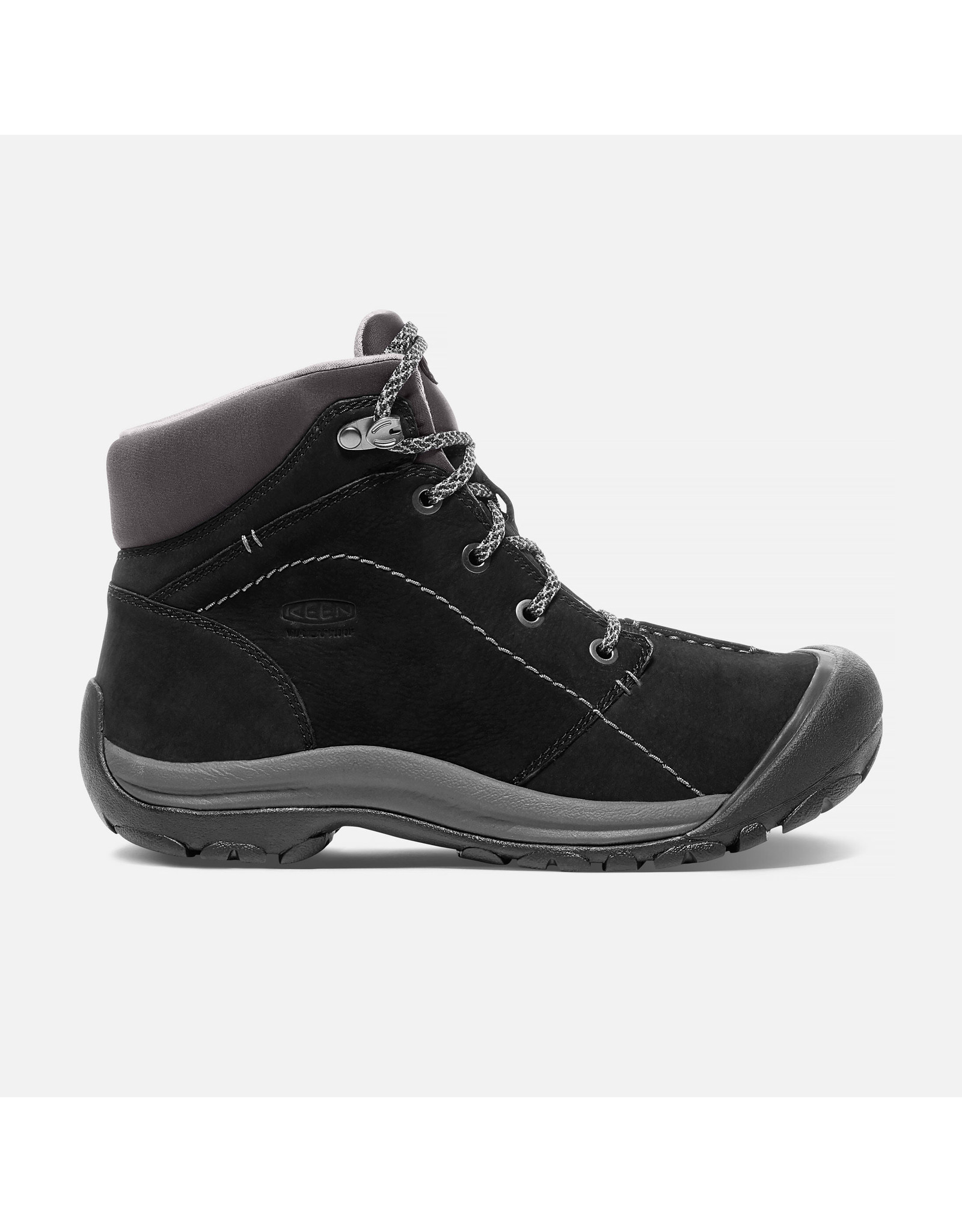 KEEN WOMEN'S KACI WINTER WATERPROOF MID-BLACK/MAGNET