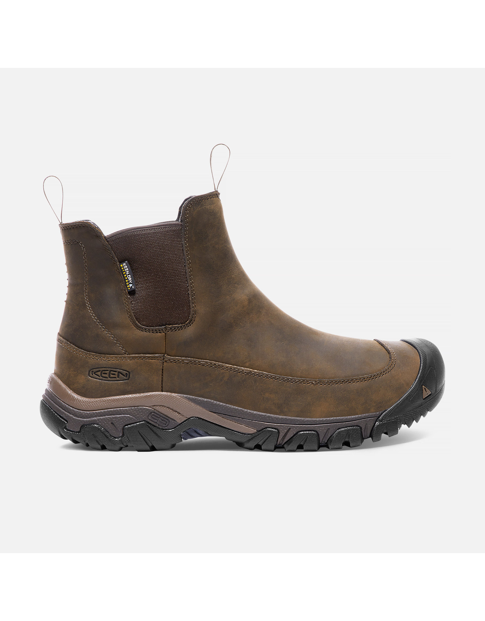 KEEN MEN'S ANCHORAGE III WATERPROOF-DARK EARTH/MULCH