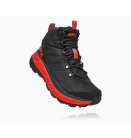 HOKA ONE ONE MEN'S STINSON MID GORE-TEX-BLACK/ORANGE