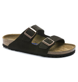 BIRKENSTOCK ARIZONA SOFT FOOTBED SUEDE LEATHER-MOCHA