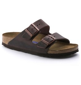 BIRKENSTOCK ARIZONA SOFT FOOTBED OILED LEATHER-HABANA