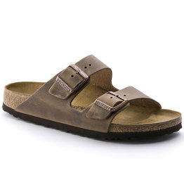 BIRKENSTOCK ARIZONA OILED LEATHER-TOBACCO