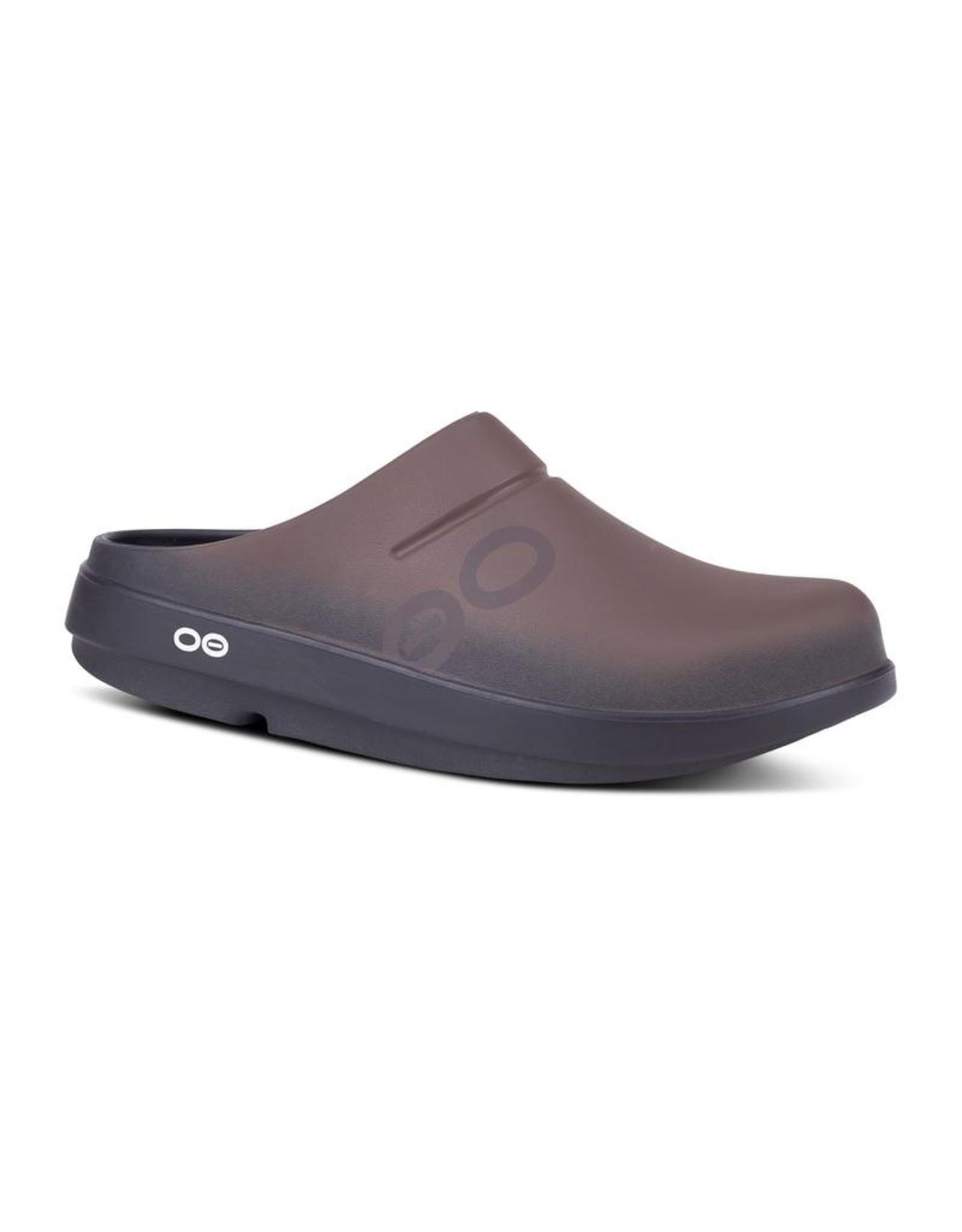 OOFOS OOCLOOG SPORT CLOG-BROWN
