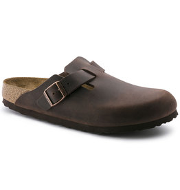 BIRKENSTOCK BOSTON OILED LEATHER-HABANA