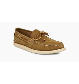 UGG MEN'S BEACH MOC SLIP-ON-CARAMEL