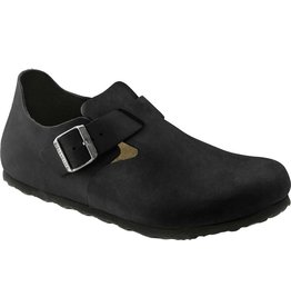BIRKENSTOCK LONDON OILED LEATHER-BLACK
