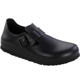 BIRKENSTOCK LONDON SOFT FOOTBED-HUNTER BLACK