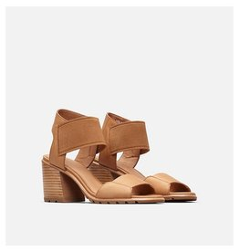 SOREL WOMEN'S NADIA SANDAL-CAMEL BROWN