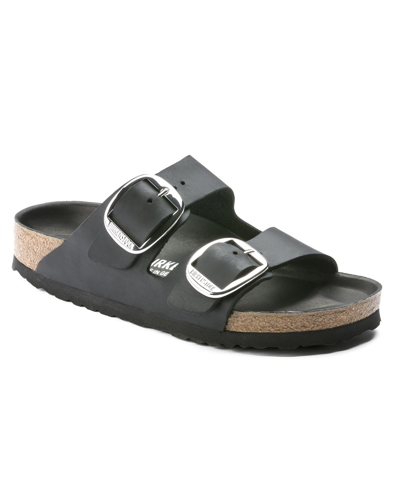 BIRKENSTOCK ARIZONA BIG BUCKLE BLACK OILED