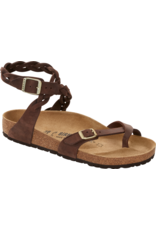 BIRKENSTOCK YARA BRAID OILED LEATHER-HABANA