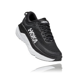 HOKA ONE ONE WOMEN'S BONDI 7-BLACK / WHITE