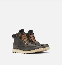 SOREL MEN'S MADSON II MOC TOE BOOT WP-COAL