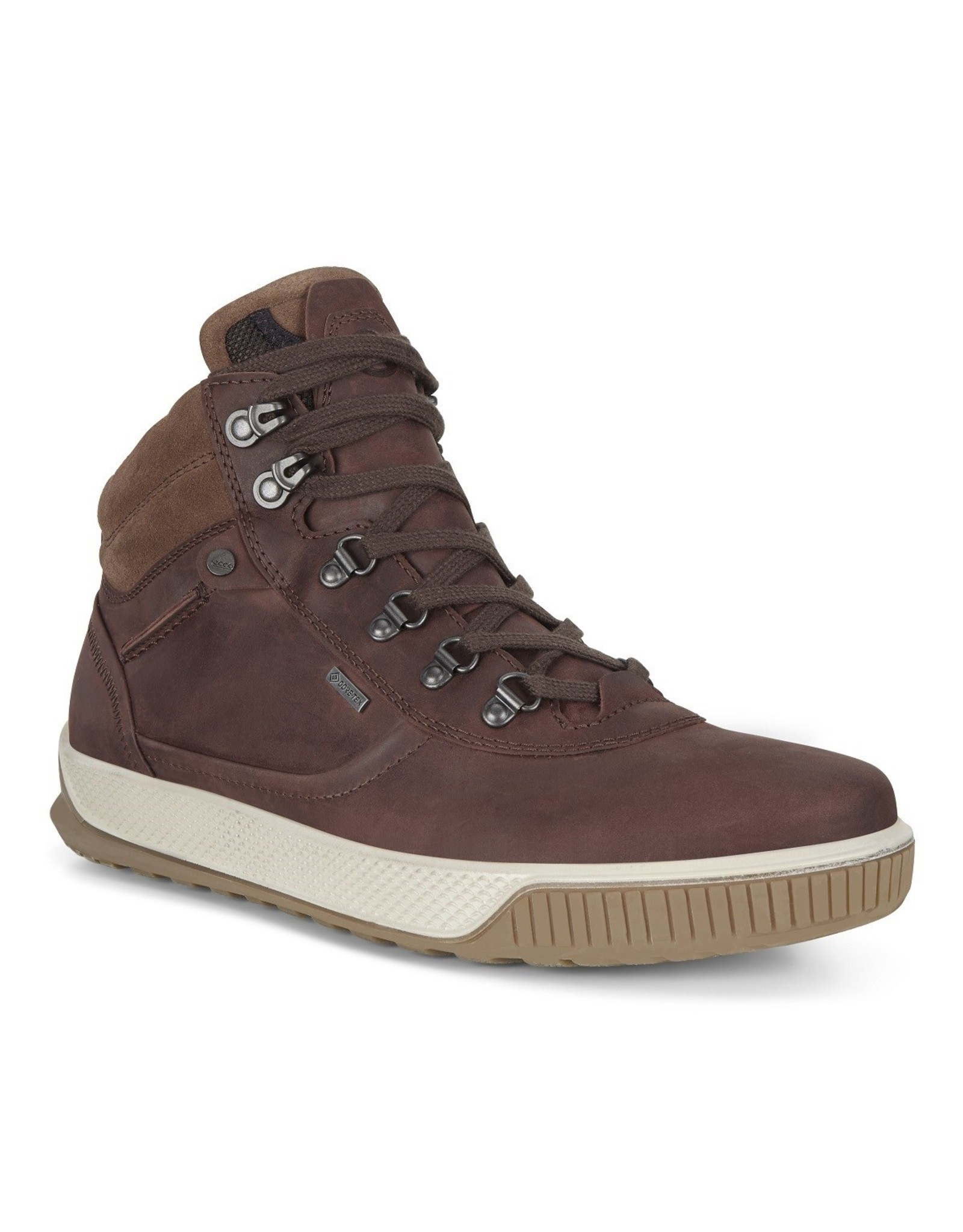 ECCO MEN'S BYWAY TRED GORE-TEX URBAN BOOT-CHOCOLAT/COCOA BROWN OIL NUBUCK