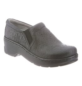 KLOGS WOMEN'S NAPLES-BLACK TOOLED