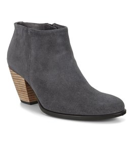 ECCO WOMEN'S SHAPE 55 WESTERN ANKLE BOOT-MAGNET