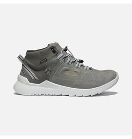 KEEN MEN'S HIGHLAND WATERPROOF CHUKKA-STEEL GREY/DRIZZLE