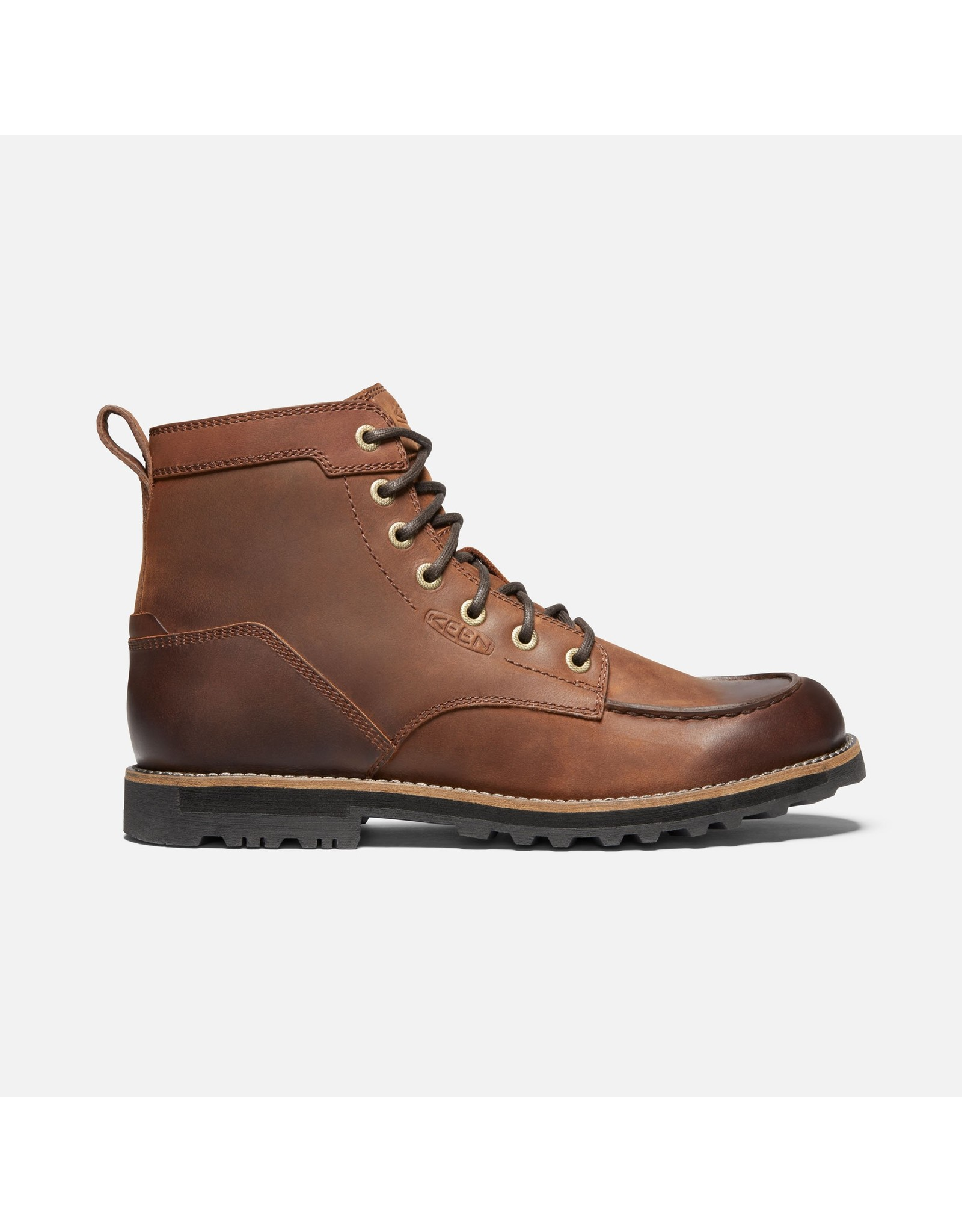 KEEN MEN'S THE 59 II MOC TOE BOOT-BROWN
