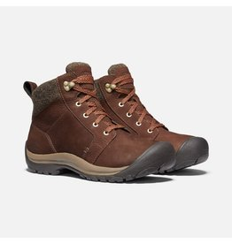 KEEN WOMEN'S KACI II WINTER WATERPROOF BOOT-CHESTNUT/CANTEEN
