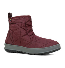 BOGS WOMEN'S SNOWDAY LOW BOOT-WINE