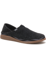CHACO MEN'S REVEL SLIPPER-BLACK
