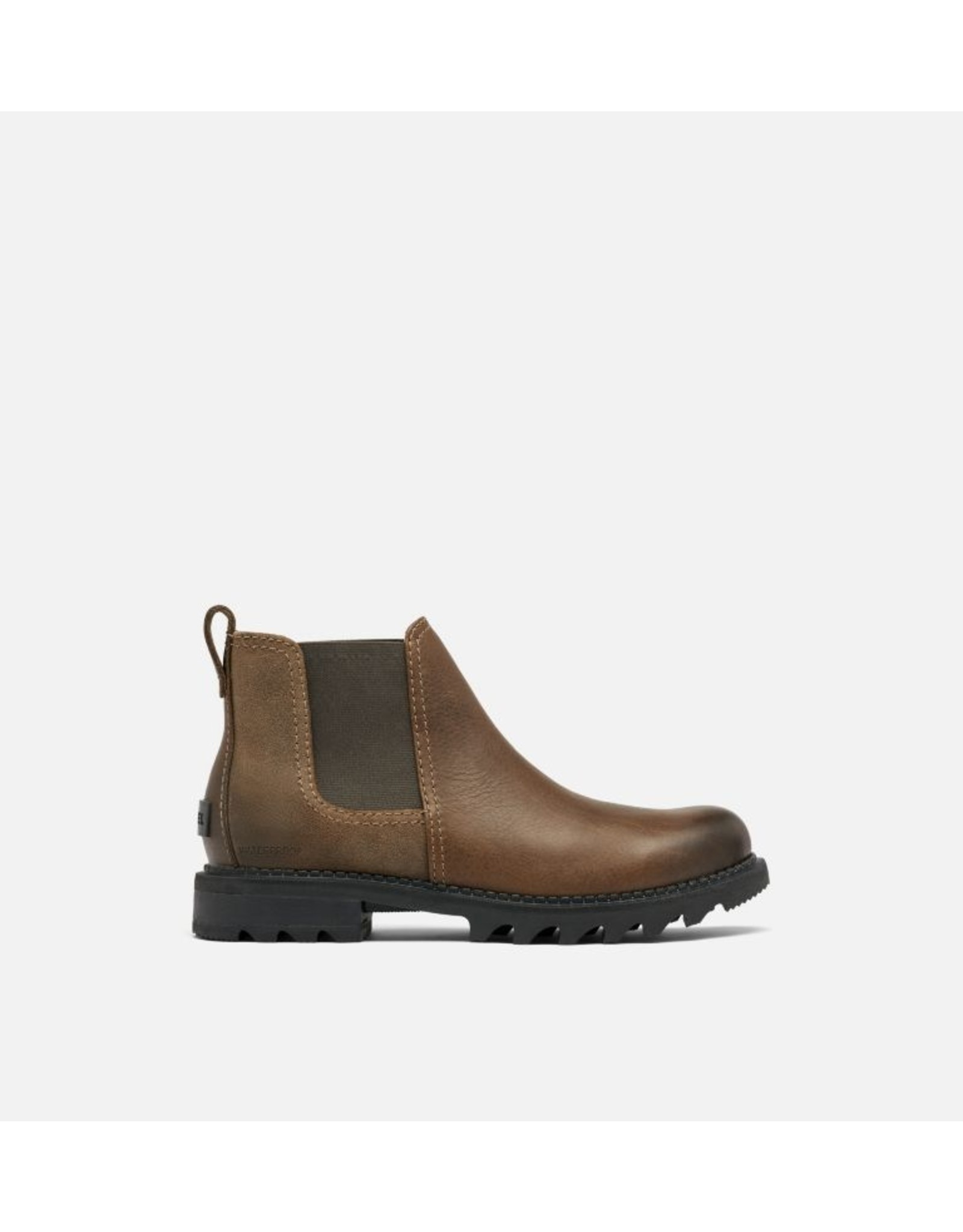 SOREL MEN'S MAD BRICK CHELSEA WATERPROOF-SADDLE