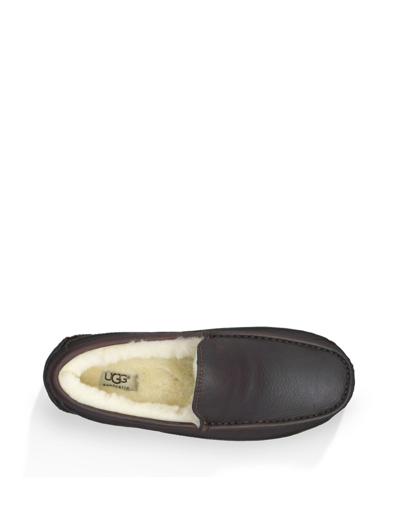 UGG MEN'S ASCOT SLIPPER WIDE-CHINA TEA
