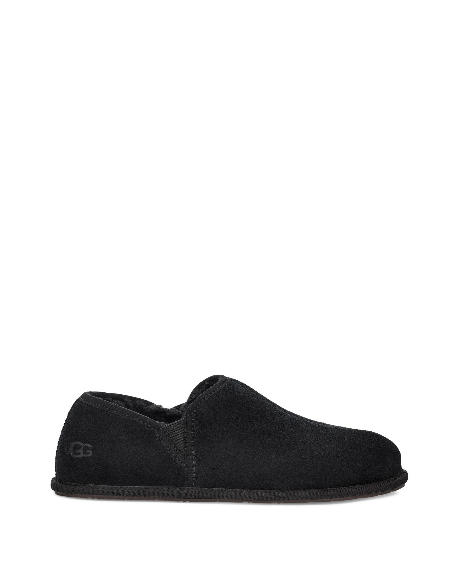 UGG MEN'S SCUFF ROMEO II SLIPPER-BLACK