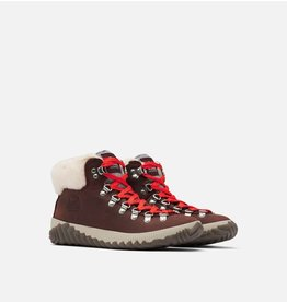 SOREL WOMEN'S OUT N ABOUT PLUS CONQUEST BOOT-REDWOOD