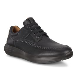 ECCO MEN'S SOFT 7 RUNNER-BLACK
