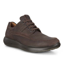 ECCO MEN'S SOFT 7 RUNNER-MOCHA