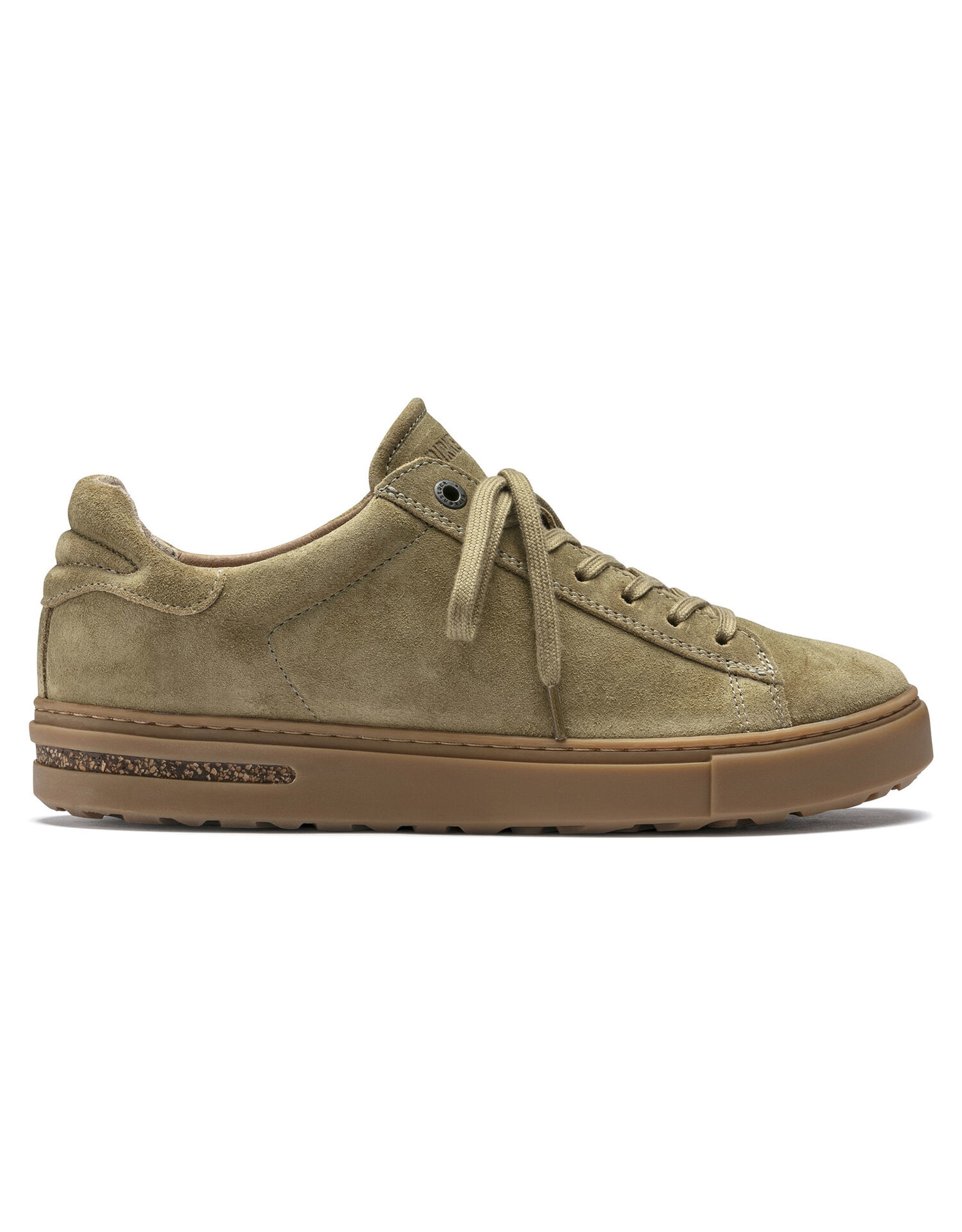 BIRKENSTOCK BEND SUEDE LEATHER-KHAKI