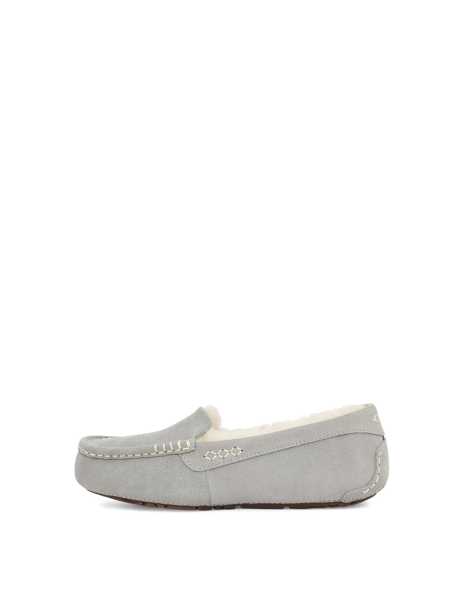 UGG WOMEN'S ANSLEY SLIPPER-LIGHT GREY