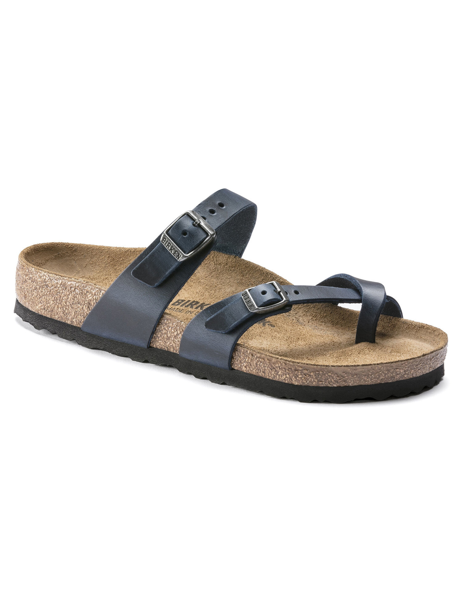 BIRKENSTOCK MAYARI OILED LEATHER-BLUE