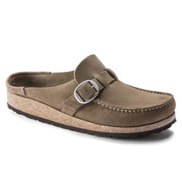 BIRKENSTOCK BUCKLEY SUEDE LEATHER-GRAY TAUPE