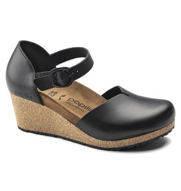 BIRKENSTOCK MARY LEATHER-BLACK