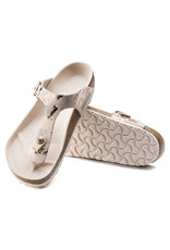 BIRKENSTOCK GIZEH LEATHER-VINTAGE METALLIC ROSE COPPER