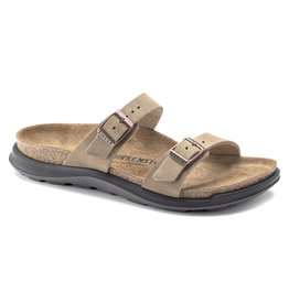 BIRKENSTOCK SIERRA OILED LEATHER-TOBACCO BROWN