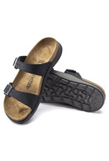 BIRKENSTOCK SIERRA OILED LEATHER-BLACK