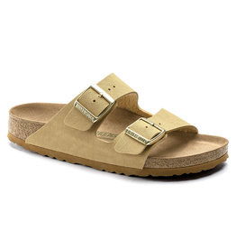 BIRKENSTOCK ARIZONA VEGAN BIRKIBUC-LATTE CREAM