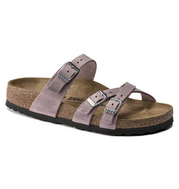 BIRKENSTOCK FRANCA OILED LEATHER-LAVENDER BLUSH