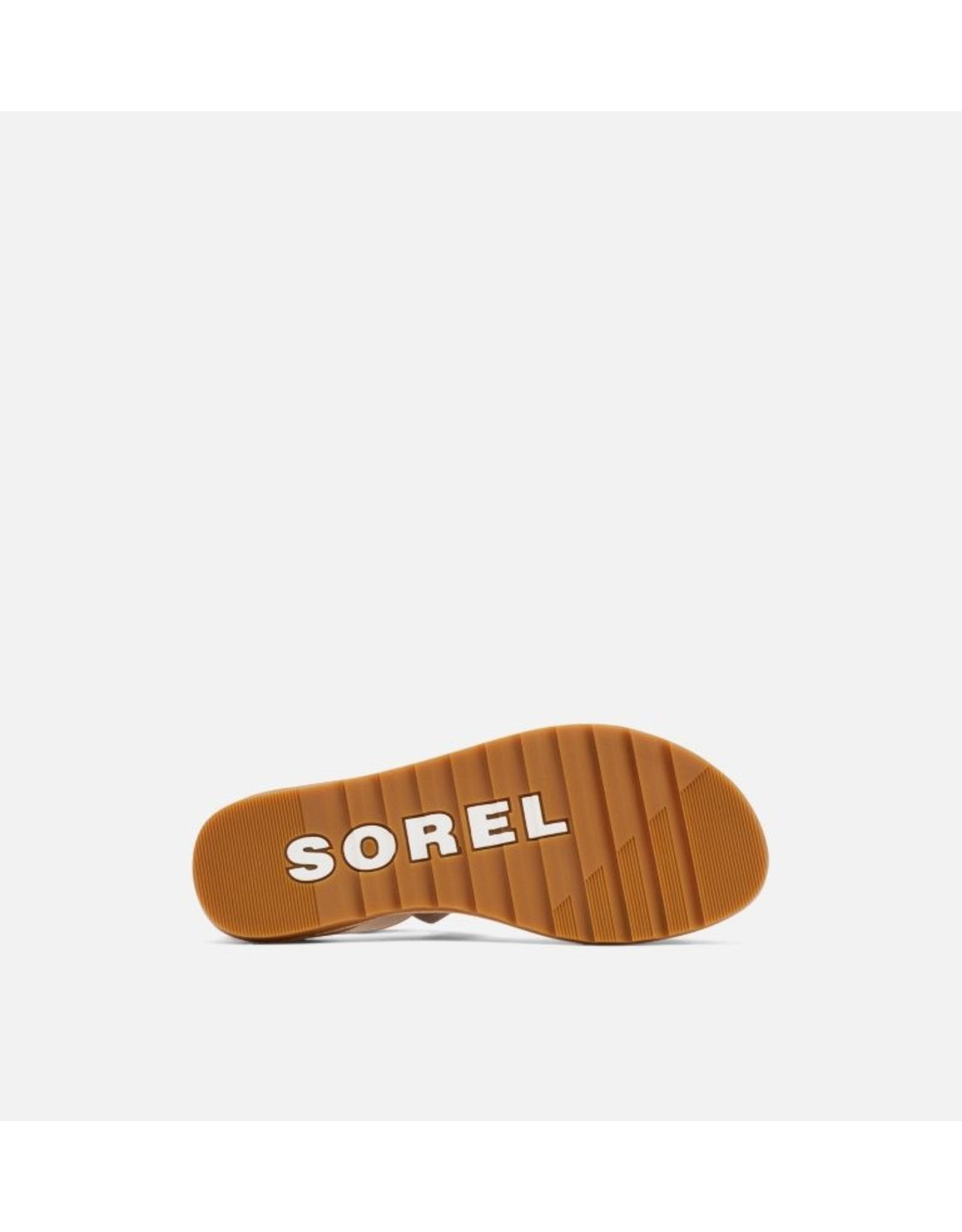 SOREL WOMEN'S ELLA II SANDAL-ASH BROWN