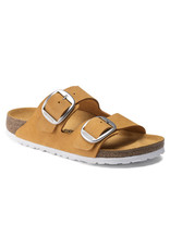 BIRKENSTOCK ARIZONA BIG BUCKLE NUBUCK LEATHER-APRICOT
