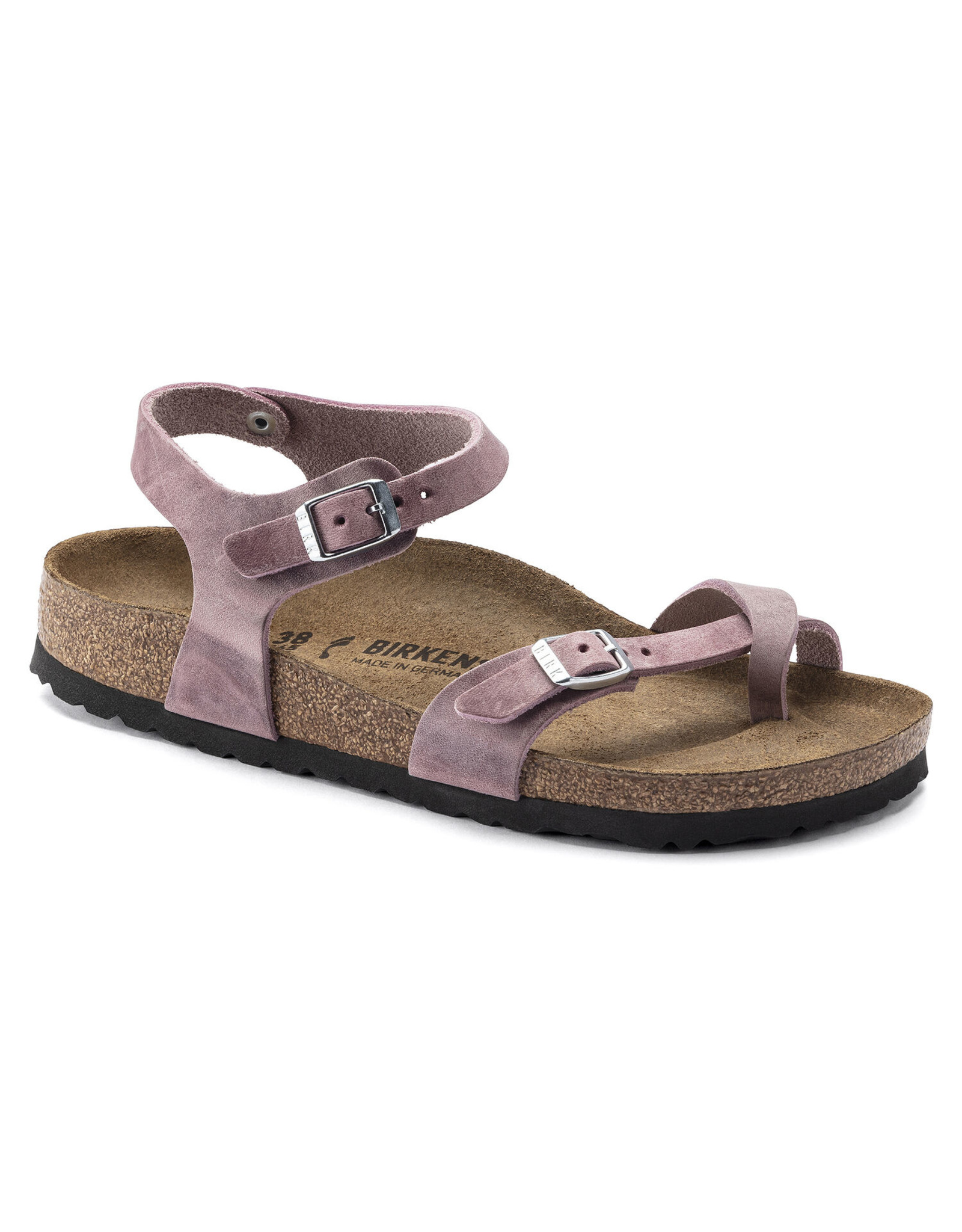 BIRKENSTOCK TAORMINA OILED LEATHER-LAVENDER BLUSH