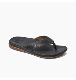 REEF MEN'S CUSHION LUX-BLACK/BROWN
