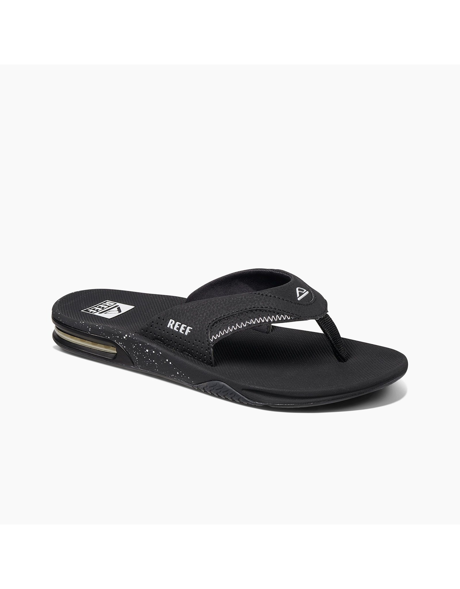 REEF MEN'S FANNING-BLACK/BLACK/WHITE